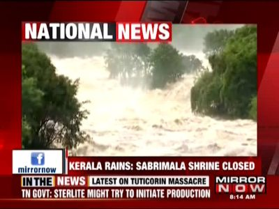 Kerala floods: Sabarimala shrine closed as Pampa river overflows