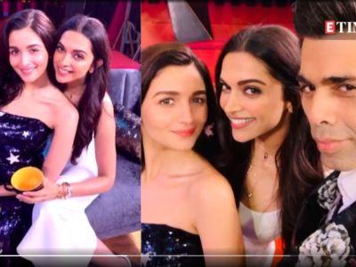 Koffee with Karan : Did Karan Johar reveal Deepika Padukone will get married before Alia Bhatt?