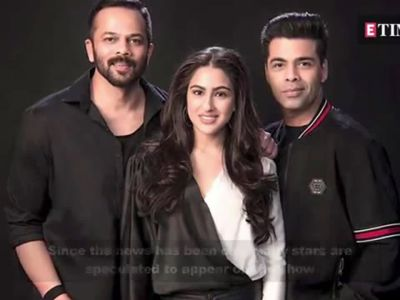 'Koffee With Karan': Sara Ali Khan, Saif Ali Khan to come together on Karan Johar's show?