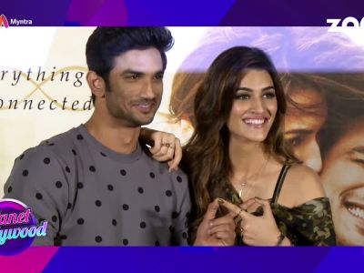 Kriti Sanon steals time to be with Sushant Singh Rajput