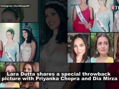 Lara Dutta shares throwback picture with Dia Mirza, Priyanka Chopra and it's a treasure!