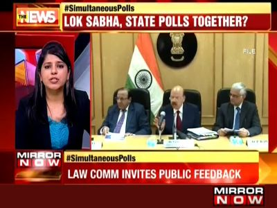 Law Commission seeks experts' views on joint Lok Sabha, state polls