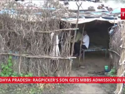 Madhya Pradesh: Ragpicker's son gets MBBS admission in AIIMS