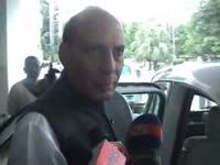 Maha scam: rajnath singh denies having info on gadkari