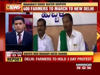 Mahadayi water dispute: Karnataka farmers to lead protest march towards Delhi