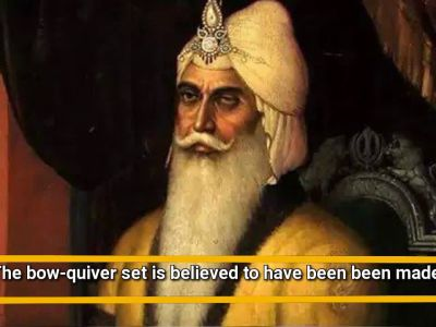 Maharaja Ranjit Singh's golden quiver to be auctioned off in London