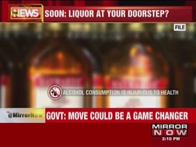 Maharashtra govt mulls home delivery of liquor