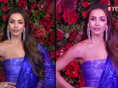 Malaika Arora takes fashion cue from Deepika Padukone, makes a splash in Rohit Bal couture