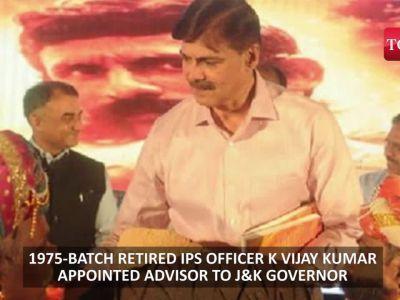 Man who killed Veerappan and battled naxals in Chhattisgarh to take on terrorists in Kashmir