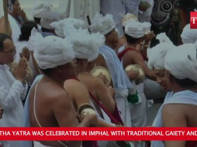 Manipur: Purna Ratha Yatra celebrated in Imphal