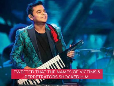 #MeToo: AR Rahman speaks up in support of movement, cautions against misuse