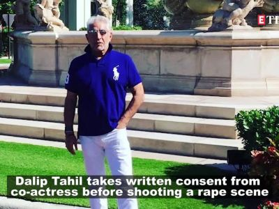 #MeToo: Dalip Tahil records statement of actress before shooting a rape scene