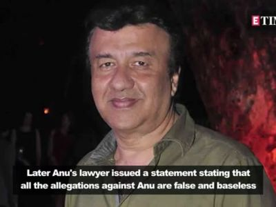 #MeToo movement: Lyricist Sameer defends Anu Malik over sexual harassment allegations by Shweta Pandit