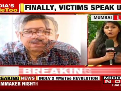 #MeToo: Noted journalist Vinod Dua accused of sexual harassment by Nishtha Jain