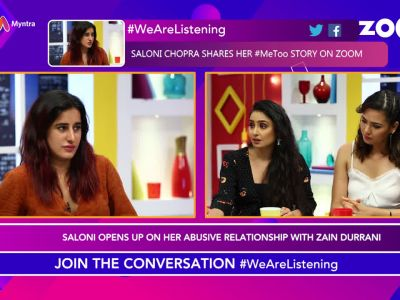 #MeToo: Saloni Chopra opens up on her abusive relationship with Zain Durrani