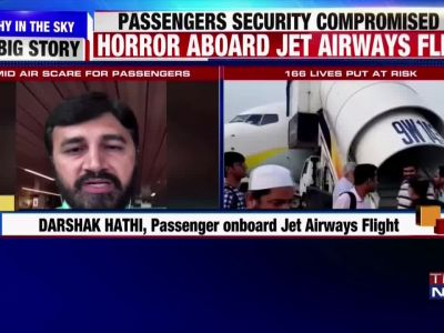 Mid-air scare: Passenger onboard Jet Airways flight narrates the entire ordeal