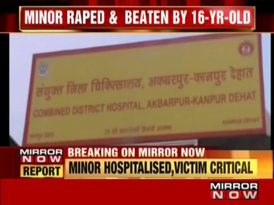 Minor raped, attacked by 16-year-old neighbour in UP's Kanpur Dehat
