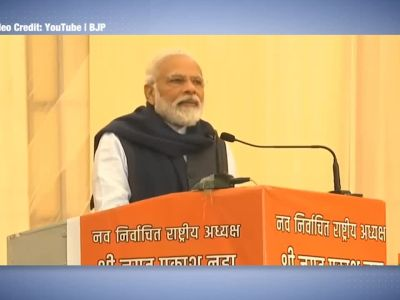 Modi at BJP HQ: Connect with people, expect no support from media