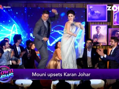 Mouni Roy upsets Karan Johar by disclosing her role in 'Brahmastra'