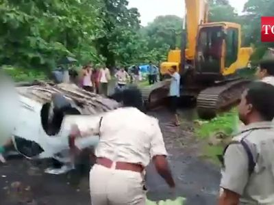 MP: Birthday celebration ends in tragedy as car falls into Kolar dam, 6 dead