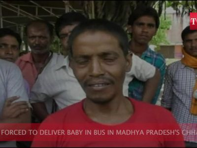 MP: Woman forced to deliver baby in bus
