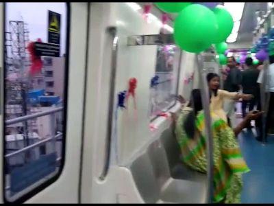 Much-awaited six-coach Namma Metro train inaugurated in Bengaluru