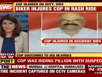 Mumbai: Cop injured while escorting theft suspect, dies later