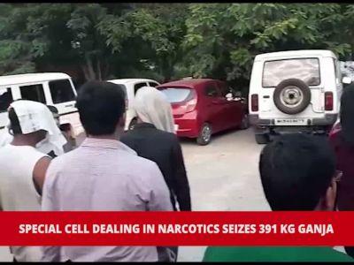 Nagpur: Special cell seizes 391 kg ganja, major drug trafficking racket busted