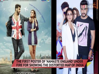 'Namaste England' under fire for displaying distorted map of India