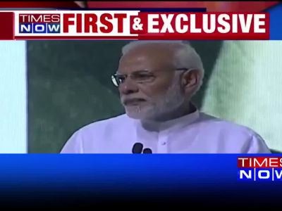 Narendra Modi pays emotional tribute to Atal Bihari Vajpayee