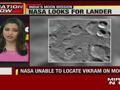 NASA releases images of Chandrayaan-2 landing site