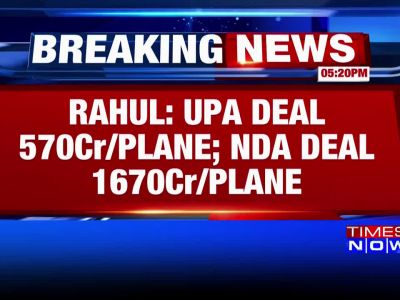 NDA govt paid Rs 1100 crore extra on every Rafale, alleges Rahul Gandhi