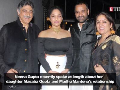 Neena Gupta reveals that Masaba and husband Madhu Mantena are trying to figure a way out