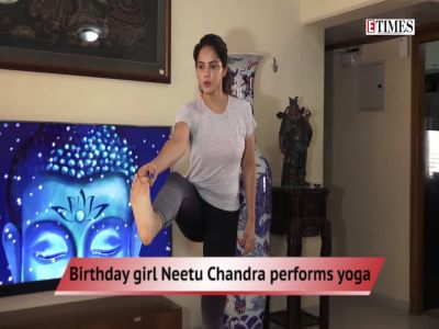Neetu Chandra performs yoga, Salman-Jacqueline off to USA, and more…