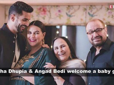Neha Dhupia, Angad Bedi welcome a baby girl!