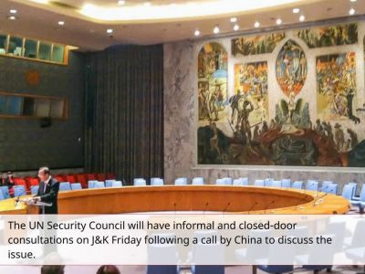 No formal UNSC meeting on J&K but closed-door consultations after China intervenes