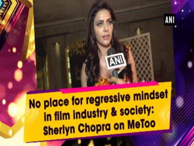 No place for regressive mindset in film industry & society: Sherlyn Chopra on MeToo