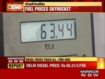 No respite for common man as fuel prices touch 55-month high