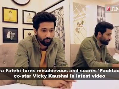 Nora Fatehi scares Vicky Kaushal in the cutest way possible; Virat Kohli reveals why his wedding with Anushka Sharma was kept confidential, and more