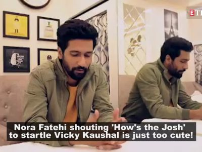 Nora Fatehi turns mischievous and scares the daylight out of 'Pachtaoge' co-star Vicky Kaushal in latest video