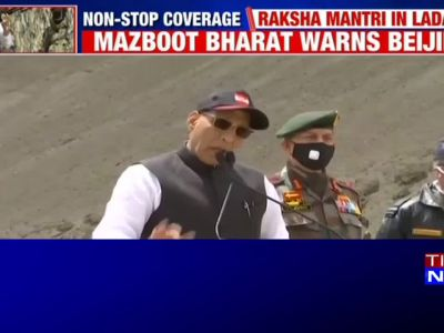 Not an inch of our land can be taken by any power in the world: Rajnath Singh