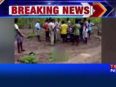 On cam: Goa cop kicks, abuses dead person's kin