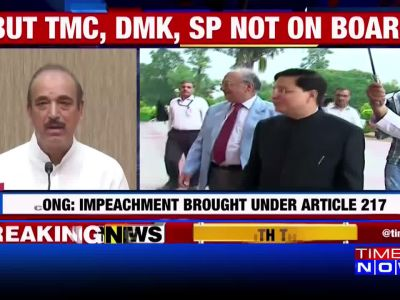 Opposition parties led by Congress submit notice for CJI's impeachment to vice president