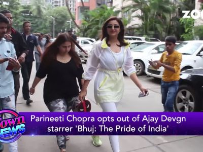 Parineeti Chopra opts out of Ajay Devgn and Sonakshi Sinha starrer 'Bhuj: The Pride of India'.