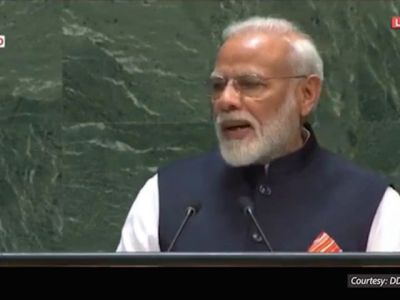 PM Modi gives address at United Nations General Assembly