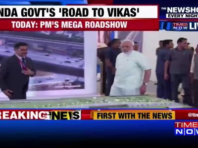 PM Modi inaugurates Delhi-Meerut Expressway, conducts roadshow