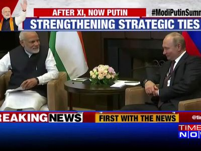PM Modi meets Russian President Vladimir Putin in Sochi