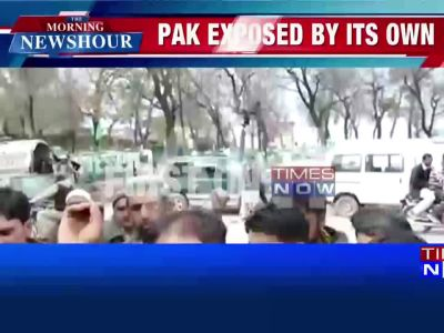 PoK residents protest against Pak atrocities in Muzaffarabad