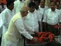 Political leaders pay tribute to K S Sudharshan