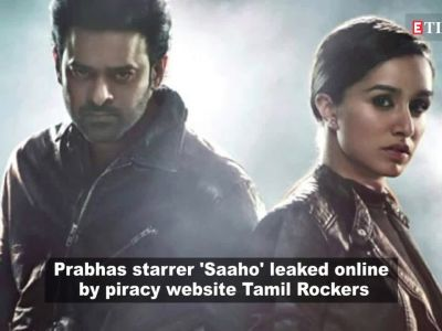 Prabhas and Shraddha Kapoor-starrer 'Saaho' leaked online by 'Tamil Rockers' within hours of release